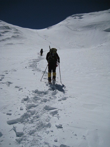 Climbing with Crampons