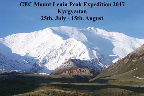 GEC Mount Lenin Peak Expedition 2017