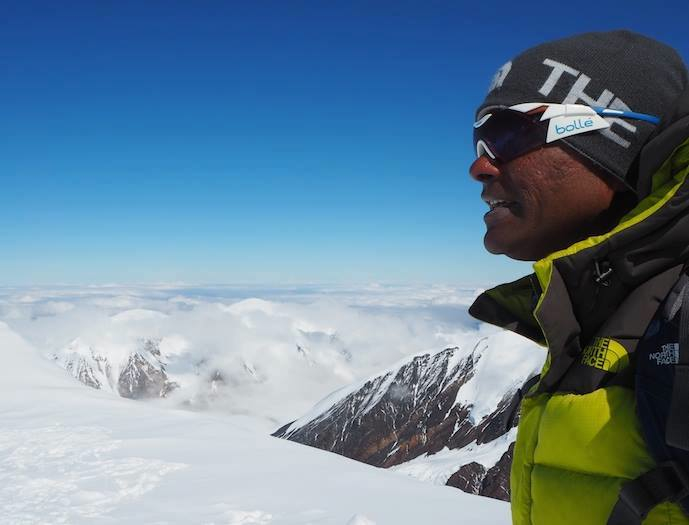 Bolle on Mount Denali